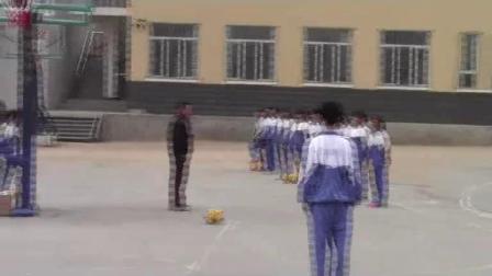 《足球-脚内侧踢球》人教版初一体育与健康,肖英琦