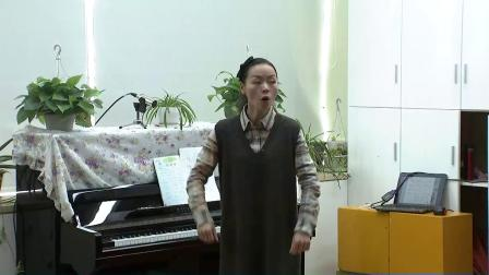 人音版六下第1课《游子吟》课堂教学视频实录-胡甘慧