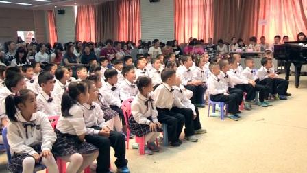 一年级音乐《小雨沙沙》广西中小学优质课及观摩活动-胡琦琦