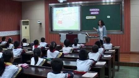 人教版英语三下第三单元《Let'stalk》课堂教学视频实录-周绿野