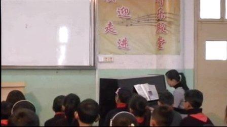 人音版小学音乐五年级上册《雪花带来冬天的梦》优质课教学视频