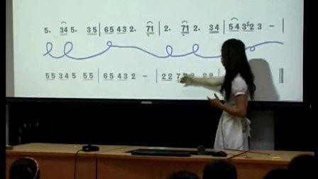 人音版小学音乐五年级上册《雪花带来冬天的梦》优质课教学视频2