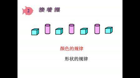 《找规律》人教2011课标版小学数学一下教学视频-江西九江市_瑞昌市-李素珍
