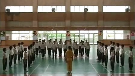 八年级体育教学视频《健身拳及操》体育名师工作室教学视频