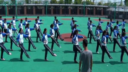 人教版八年级体育《武术健身拳》课堂教学视频实录-祝云捷