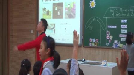 人教版英语五上第五单元《Let's learn Let's play》课堂教学视频实录-薛海东