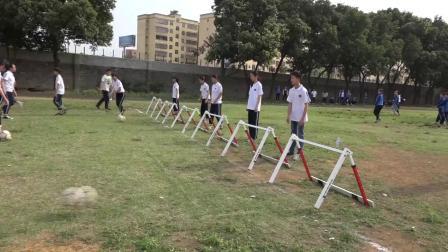 《足球-脚内侧踢球》人教版初一体育与健康,张华