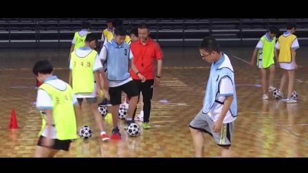 《足球-控球与保护球》人教版初一体育与健康,杨盂兴