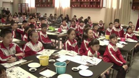 小学美术人美版四下《第6课 中国画——学画大熊猫》北京侯冰心