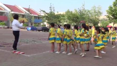 《跳单双圈》科学版一年级体育,唐山市县级优课