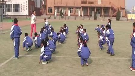 《立定跳远》小学体育一年级,尹晓蓉