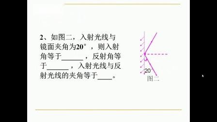 华师大版科学八下2.1《探究光反射的规律》课堂教学视频实录-潘超群