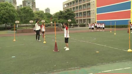 人教版体育五年级《跨越式跳高》课堂教学视频实录-李恒