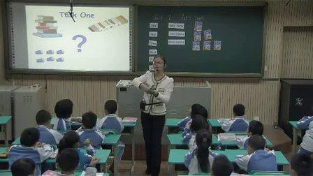2015年《unit7 let'scount》小学英语牛津深圳版一上教学视频-深圳-布心小学:蒋元元