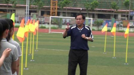《足球-绕杆运球》人教版初一体育与健康,王兆杰