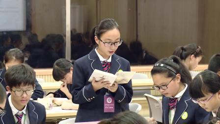 人教版语文八下第一单元第2课《我的母亲》课堂教学视频实录-朱伟娣