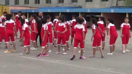 《接力跑》优质课(科学版六年级体育,杨永)