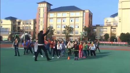 《立定跳远》一年级体育,江苏省市级优课