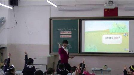 2015年《Unit10 On the farm》小学英语牛津深圳版一上教学视频-深圳-人民小学:肖文娟