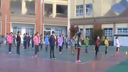 《跳短绳:连续并脚跳》科学版一年级体育,镇江市县级优课