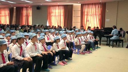 五年级音乐《芦沟谣》广西中小学优质课及观摩活动-梁妙冰