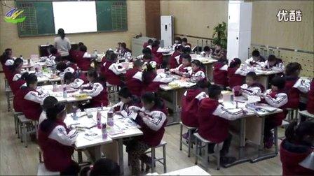 小学二年级美术《花格子牛》教学视频,李丽娜