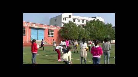 《足球-脚内侧踢球》人教版初一体育与健康,重庆市县级优课