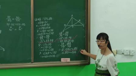 人教2011课标版数学九下-27.2《相似三角形》教学视频实录-龚英