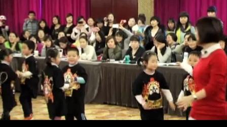 大班创造性律动《欢乐恰恰恰》优质课+教师说课-重庆:林朦